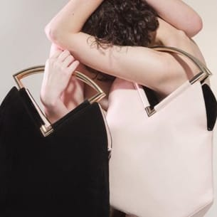 Venice Reversible bag - Black and White - PS