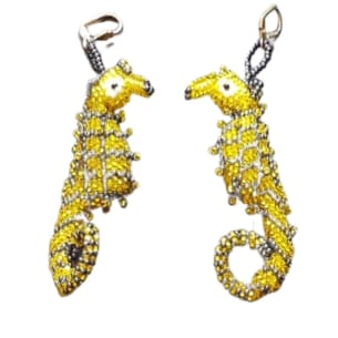 Beaded Earrings - Seahorse - 3 available colours