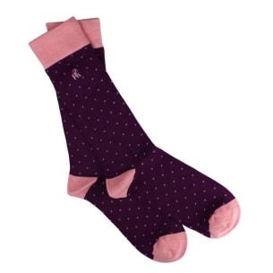 Chaussettes à Pois pour homme - Large choix de Couleurs