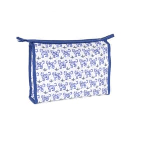 Children wash bag blue tigers