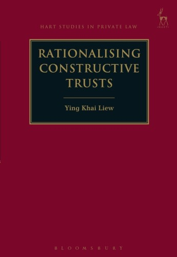Obligations Group Book Launch: Rationalising Constructive Trusts