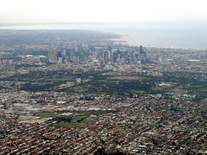 Melbourne's urban growth boundary has been expanded in recent years. Picture: Wikipedia