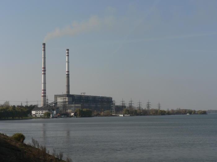 Ukraine's Ladyzhyn power plant. Image: Wikimedia Commons