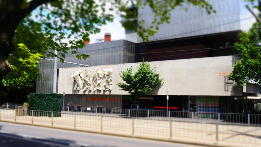 The Ian Potter Museum of Art houses more than 15,000 objects. Picture: Sarah Fisher/University of Melbourne