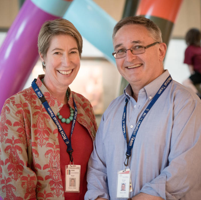 University of Melbourne researchers Susan Sawyer (left) and George Patton (right) are part of a 32-strong international expert panel to investigate global youth health issues. Picture: University of Melbourne