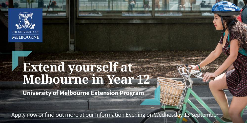 2018 Extension Program Information Evening