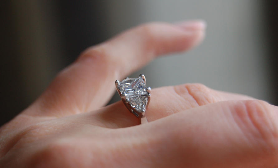 Carat Diamond Engagement Ring Ebay