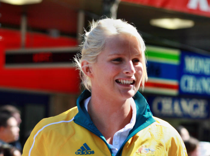 Four-time Olympic gold medalist Leisel Jones performed during the team's golden era. Picture: Wikipedia