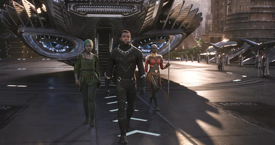 'Black Panther' beats 'Star Wars: The Force Awakens' with highest Monday ever