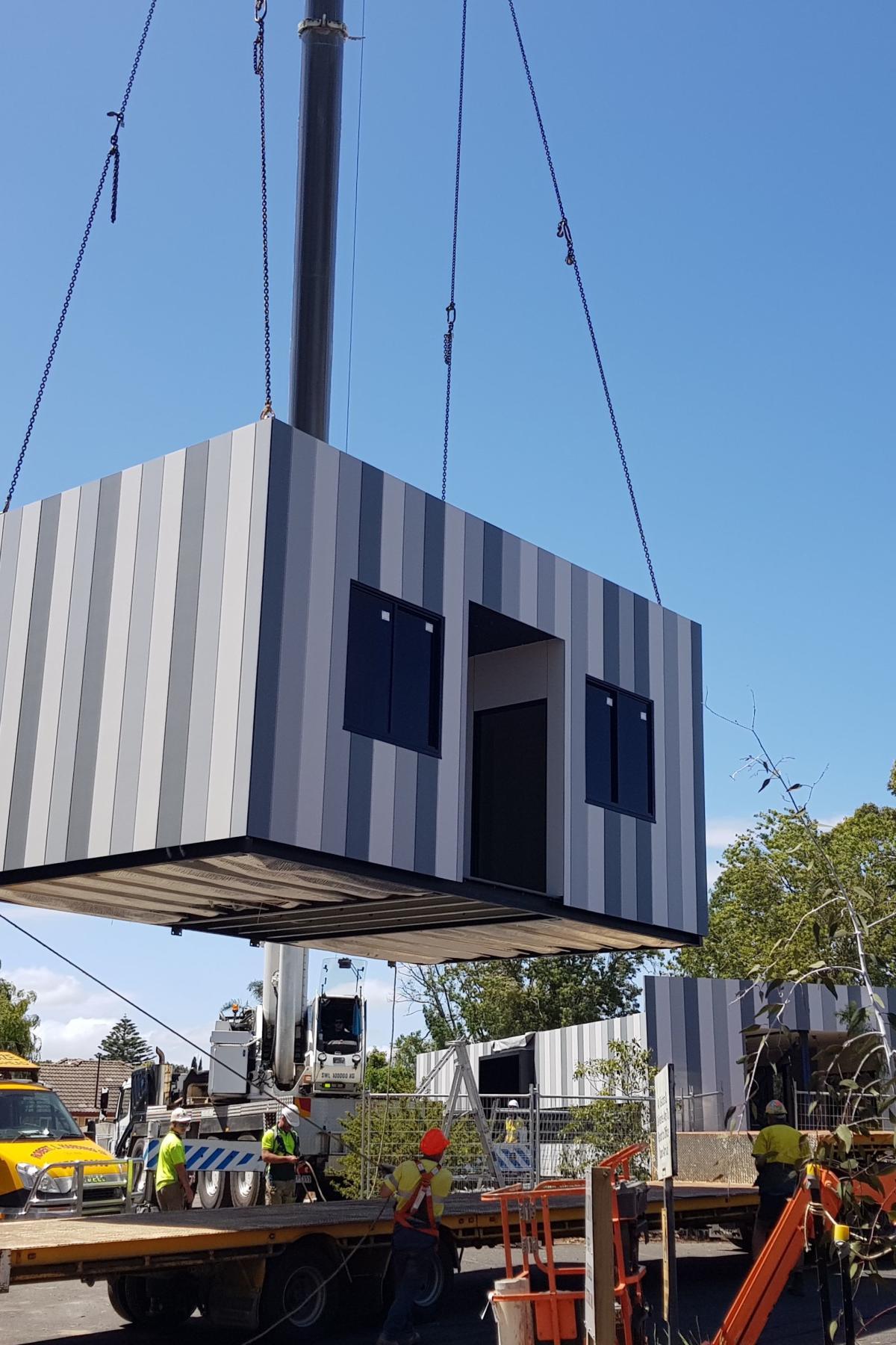 Building The Prefab Schools Of Future Pursuit By Wiring Solutions Ltd University Melbourne