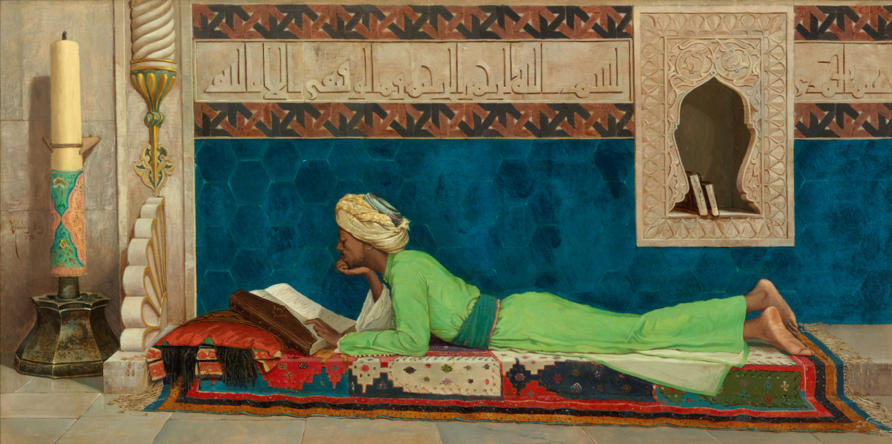 The Scholar by Osman Hamdy Bey (1842-1910) is part of the Louvre Abu Dhabi's collection. Picture: Wikimedia