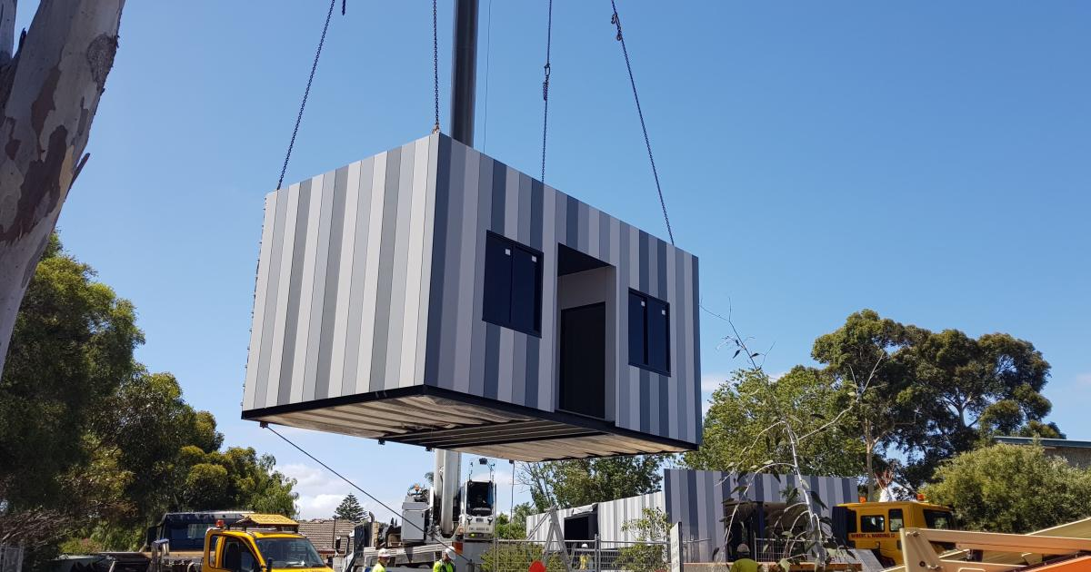 Modular Classroom S ~ Building the prefab schools of future pursuit by