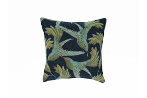 Paradise Bird Navy Cushion