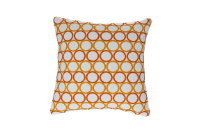 Geometric Circle Cushion
