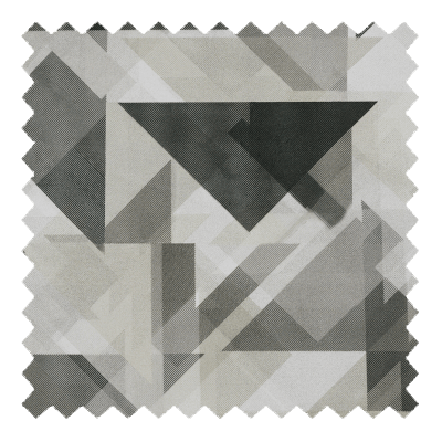 Retro Triangles Grey
