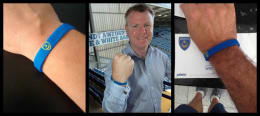 Official Pompey Academy Wristband