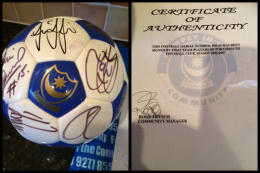 Signed Pompey Football Signed by 2006/07 first team