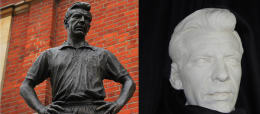 THE MOULD OF JOHNNY HAYNES' STATUE CAN BE YOURS!