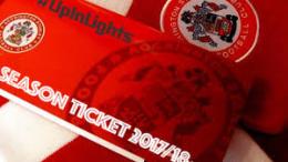 2017/18 Accrington Stanley Season Ticket