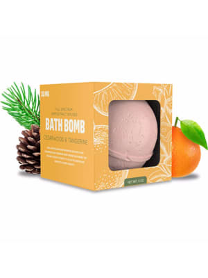GRN CBD Cedarwood Tangerine CBD Bath Bomb