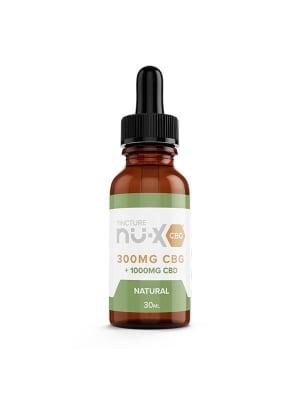 Nu-X CBG Tincture Natural - CBD 1000 mg