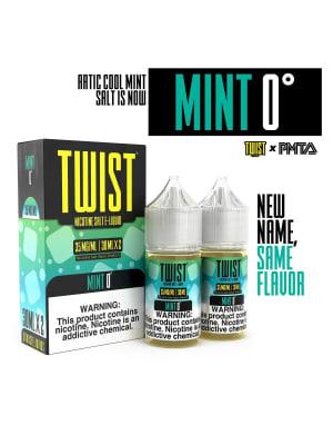 Twist Salts Mint 0° - 2 Pack