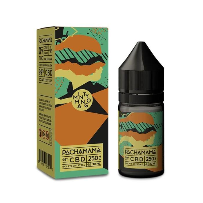 Pachamama Minty Mango CBD Vape Juice (30ml)