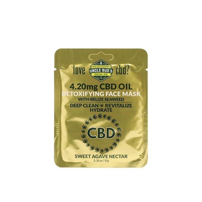 Uncle Bud's Detoxifying CBD Face Mask Sachet