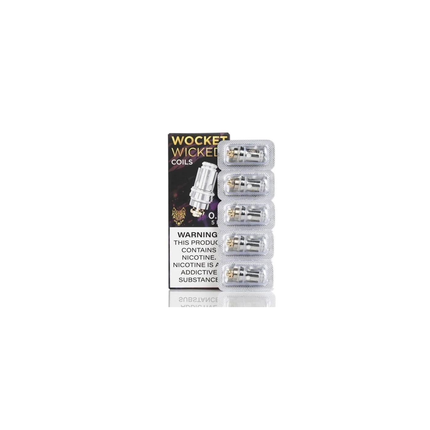 Sigelei Wocket Wicked Coil - 5 Pack