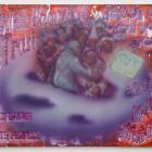 Sven Loven, Trip to Mars, acrylic on canvas, 60 x 72 in. (152.4 x 183 cm.,) Christian Andersen, Copenhagen