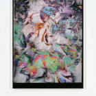 Travess Smalley, Untitled (Feb_9_2015_Lulu_Book_02_Page_Scans 03), 2015, UV coated digital pigment print mounted on aluminum frame, 81 1⁄2  × 59 1⁄2  × 1 1⁄2  in. ( 207.01  × 151.13  × 3.81  cm)