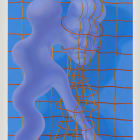 Sascha Braunig, Blue Loomer, 2013, oil on canvas over panel, 32 x 24 in. (81.3 x 61 cm.,) SB_FP2538