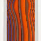 Sascha Braunig, Herm 3, 2016, oil on linen over panel, 45 × 12 3⁄4  in. ( 114.30 × 32.38 cm), SB_FP3434