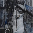 Joel Croxson, You, 2011, oil and charcoal on canvas, 17 3/4 x 21 3/4 in.