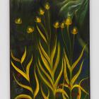Srijon Chowdhury, Memorial Day Thistle, 2021, oil on linen, 36 x 24 in. (91.44 x 60.96 cm)