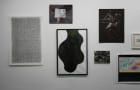 Ink blob in the Pratt Alumni Exhibition curated by Honey Ramka Gallery