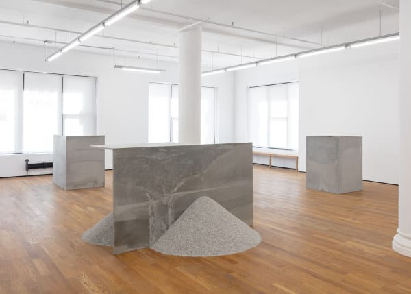 Stephen Lichty, 2021, installation view, Foxy Production, New York