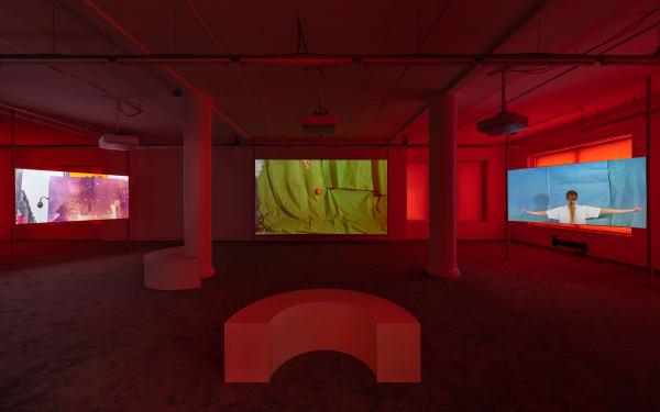 Sara Cwynar, Glass Life, 2021, installation view, Foxy Production, New York