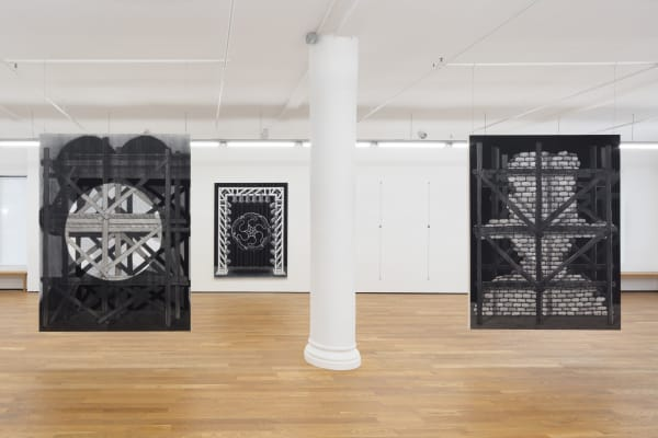 Cindy Ji Hye Kim, Verses from the Apocalypse, 2019, installation view, Foxy Production, New York