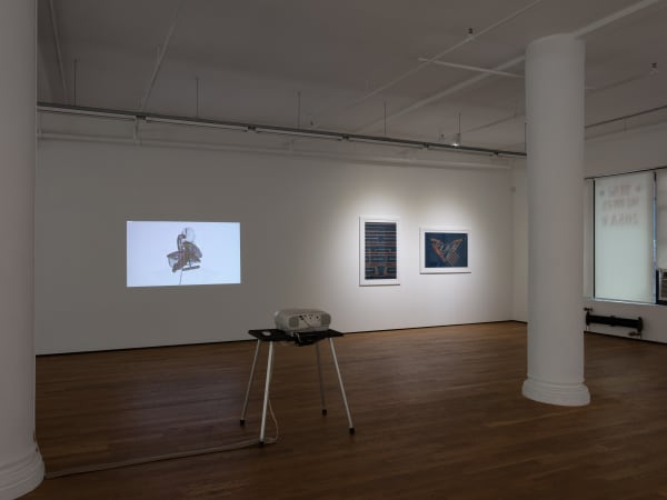 Graphica, 2020, installation view, Foxy Production, New York