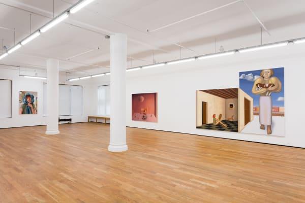 Anna Glantz, Cyclops, 2019, installation view, Foxy Production, New York