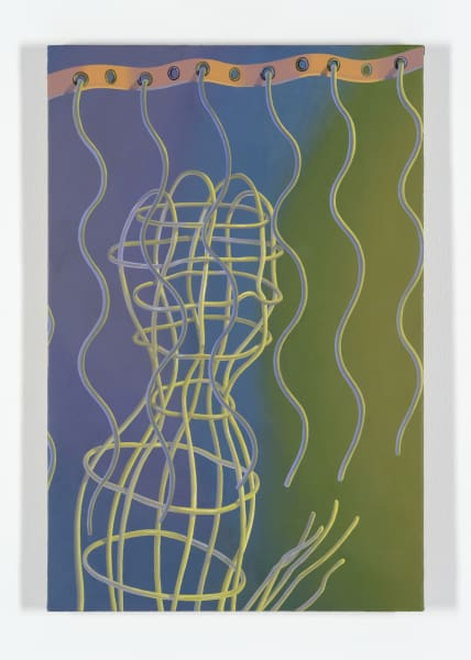 Sascha Braunig, Valance, 2014/2015, oil on linen over panel, 30 x 20 in.
