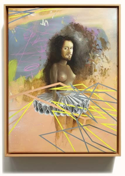 Self Portrait with Rembrandts Tutu