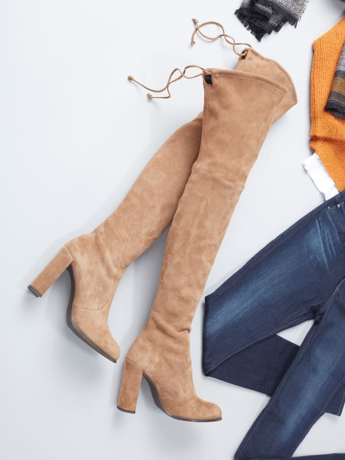 Thigh high boots for fall