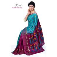 Soft Half-Silk Saree-DL-126