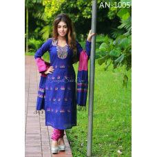 New Arrival Soft Half-Silk salwar kameez
