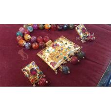 Joypuri Design Gold Plated Necklace-G-3