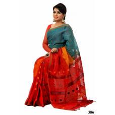 Soft-Cotton-Tangail-Saree-ts-386