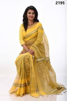 pure Cotton Tangail Saree-TS-2195