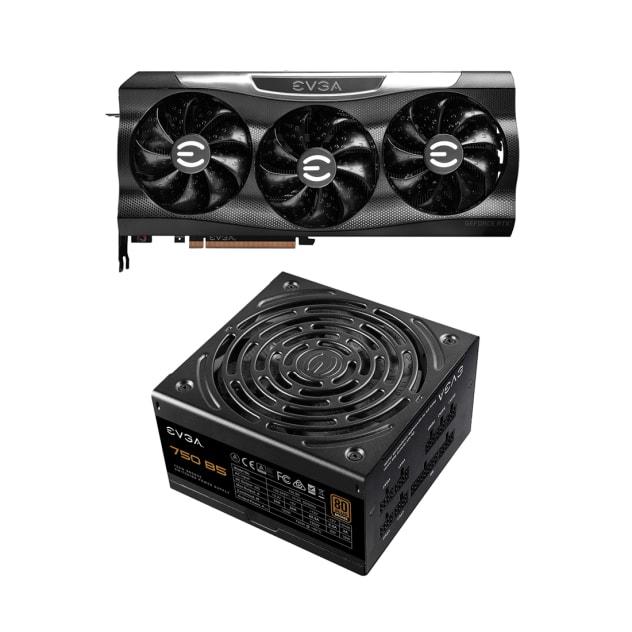 EVGA GeForce RTX 3080 Ti FTW3 ULTRA + 750 PSU